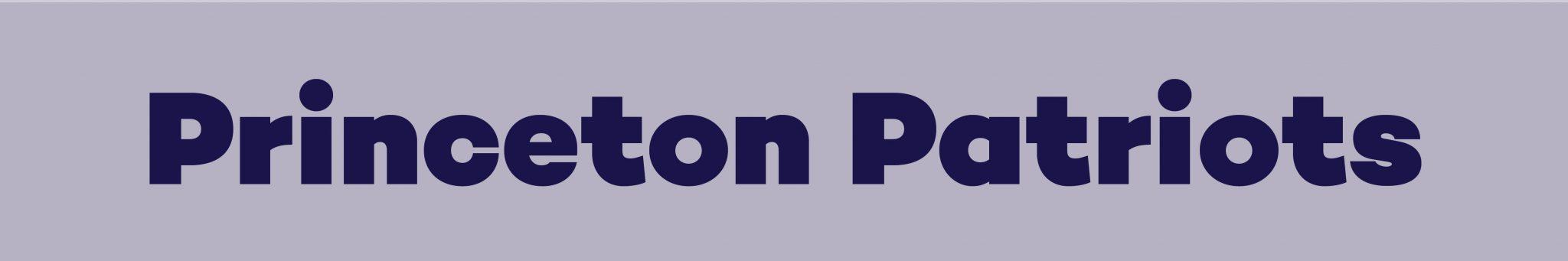 princeton patriots banner